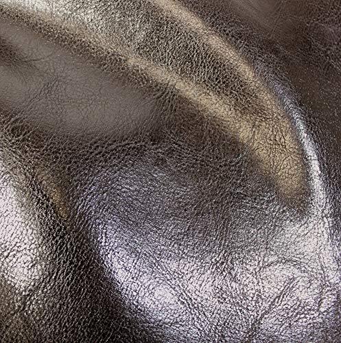 VViViD Bycast65 Black Gloss Top-Grain Faux Leather Marine Vinyl Fabric (25ft x 54'') by VViViD (Image #1)