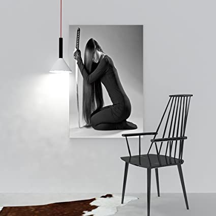 Amazon.com: Hanging Wall Decoration Painting Sexy Long ...