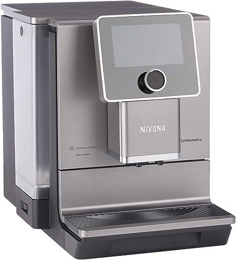 Nivona NICR CafeRomatica 970 - Cafetera automática, color titanio: Amazon.es: Hogar