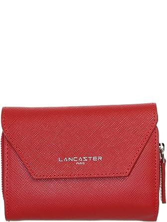 Lancaster - Portefeuille Lancaster Adele en cuir ref lan39932-rouge-13 10 3 c6a3226fdd9