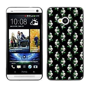ZECASE Funda Carcasa Tapa Case Cover Para HTC One M7 No.0002165
