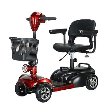 Amazon.com: KASIQIWA Scooter eléctrico portátil plegable con ...