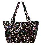 Vera Bradley Miller Travel Tote Bag, Bandana Swirl