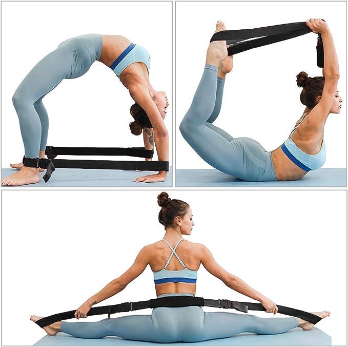 banda de estiramiento para yoga