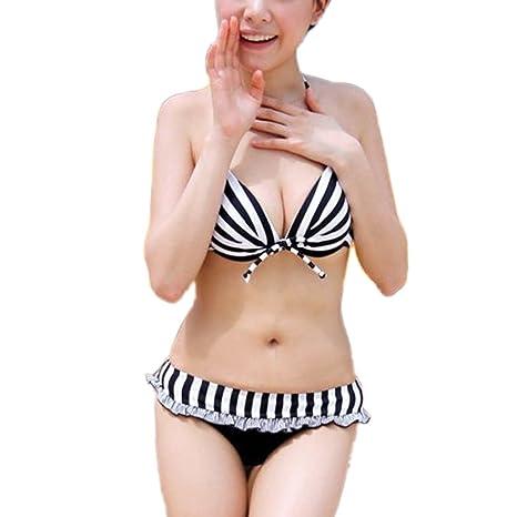 Bañadores Bikini Sujetador Braga Mujer + Pantalones Cortos para Hombre Nuevo