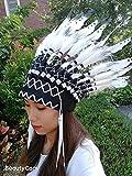 Native American Indian Feather Headdress Headwear