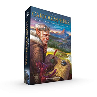 Cartographers: A Roll Player Tale, Game: Toys & Games