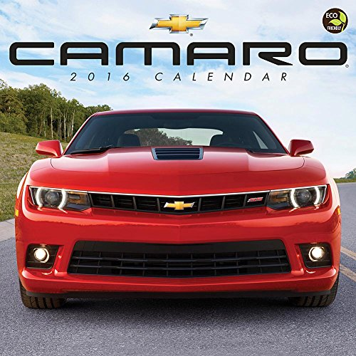 Camaro Wall Calendar by TF Publishing 2016