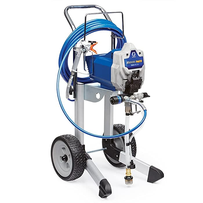 Graco 17G180 Magnum ProX19 Cart Paint Sprayer Review