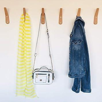 Amazon.com: Ganchos rústicos para colgar abrigos, hechos a ...