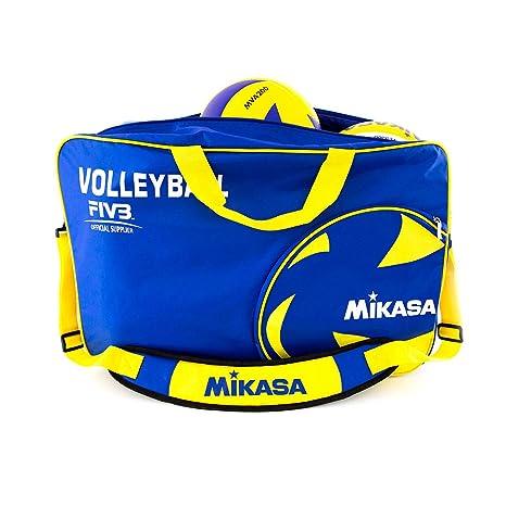 MIKASA de Pelotas de Voleibol, Azul/Amarillo, 60,0 x 40,0 x 2,0 cm ...