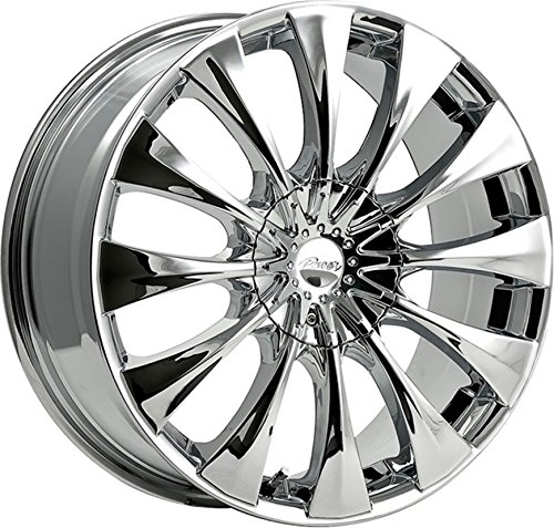 """Pacer 776C SILHOUETTE Wheel with Chrome Finish (20x8.5""""/5x4.50"""", for sale  Delivered anywhere in USA"""