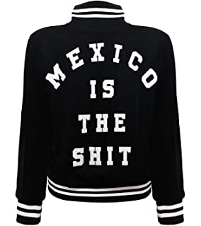 Mexico is the Shit Original Letterman Jacket for Men