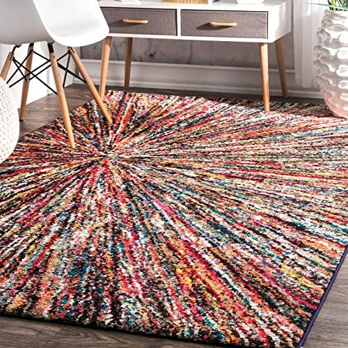 nuLOOM Warp Space Contemporary Area Rug