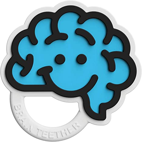 Fat Brain Toys Brain Teether Green Baby Toys /& Gifts for Babies