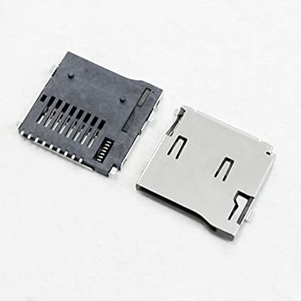 DOXO888 10 Pieces Spring Loaded Push/Push Type TF Micro SD ...