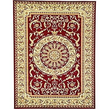 Amazon Com Persian Traditional Design Rugs Red 9 X 12