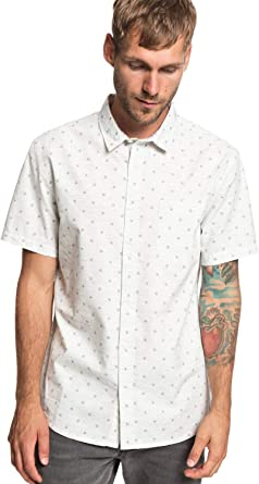 Quiksilver Mini Aletas - Camisa Manga Corta para Hombre EQYWT03801: Amazon.es: Ropa y accesorios