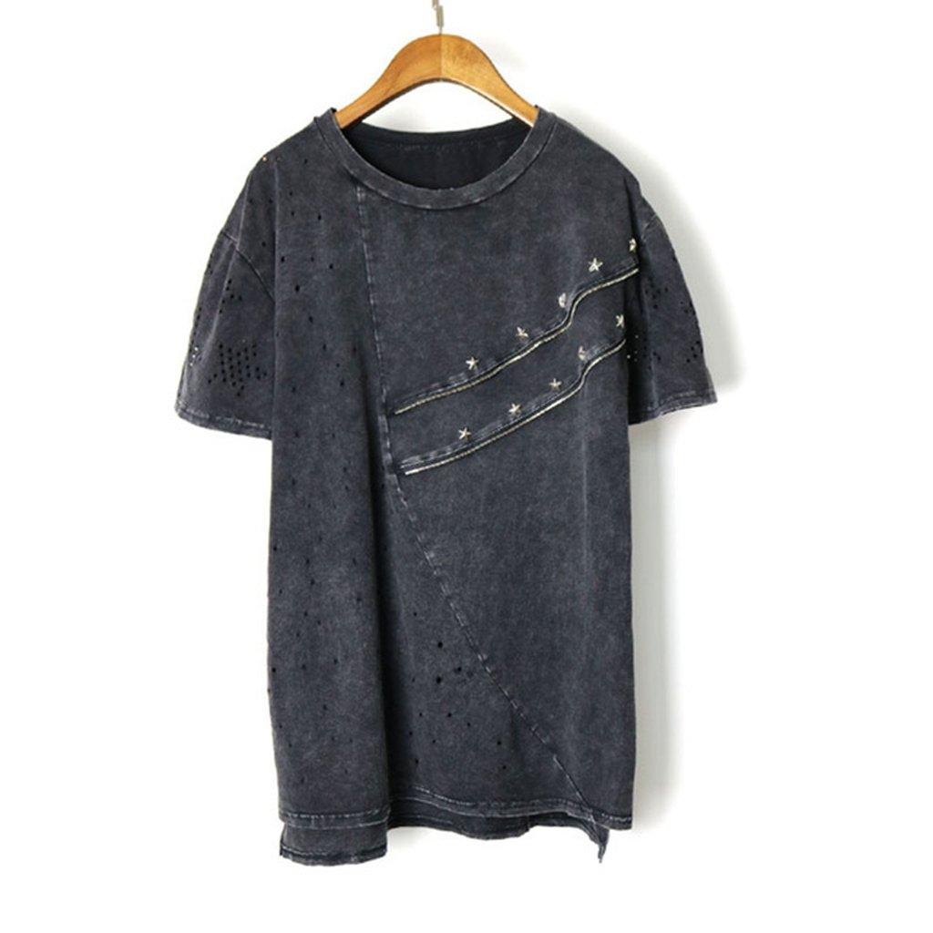 Women Punk Rock Pok Oversized Tshirt Camiseta Mujer Feminina at Amazon Womens Clothing store: