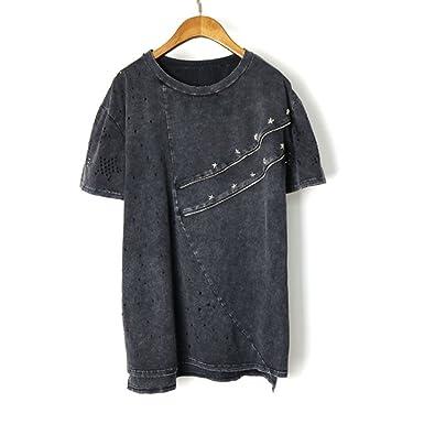 Women Punk Rock Pok Oversized Tshirt Camiseta Mujer Feminina