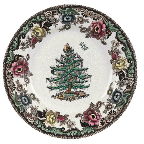 Spode Christmas Tree Grove 6-Inch Bread and Butter Plate