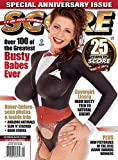 Score, June 2017 #40 Brand New Factory Sealed w/DVD SaRenna, Danni Ashe, Linsey Dawn McKenzie, Chloe Vevrier, Christy Marks, Karina Hart, Angelique, Busty Dusty, Tiffany Towers