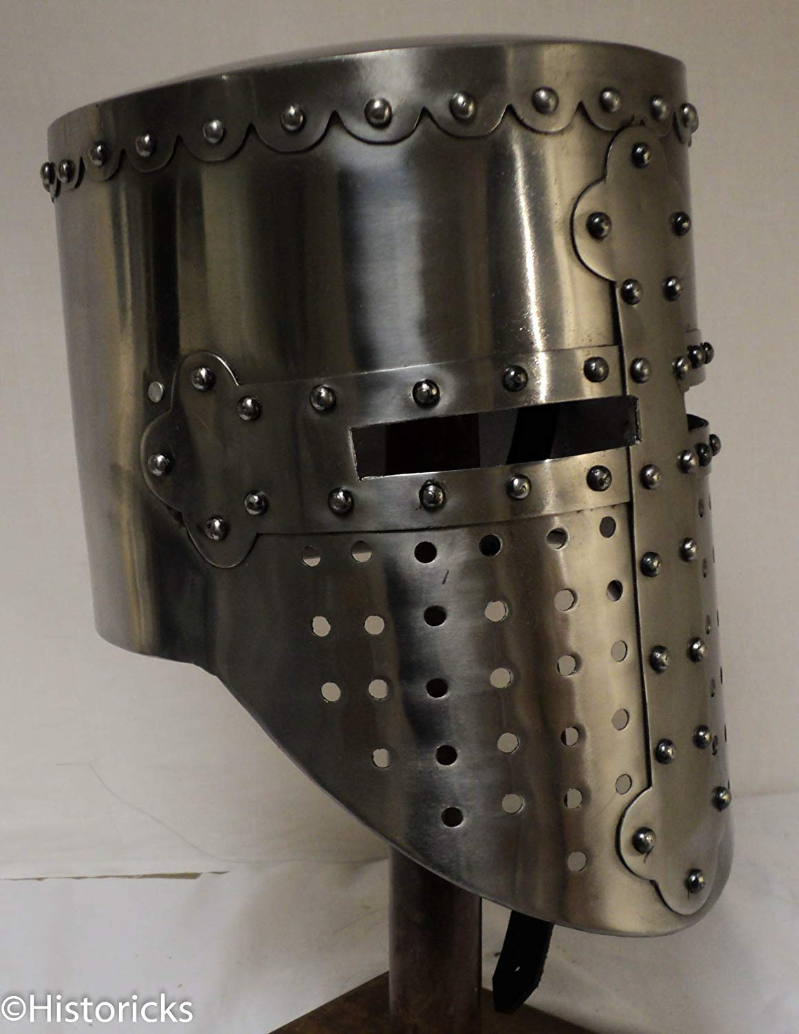 Medieval Knight Templar Helmet - re-enactment / role-play