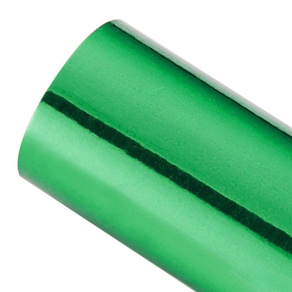 ATMOMO Green Holographic Chrome Mirror Vinyl Wrap Rainbow Finish Roll Glossy DIY Air-Release Adhesive Film 1.52Mx60CM 5559015420
