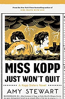 Book Cover: Miss Kopp Just Won't Quit