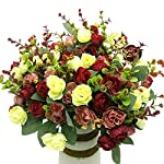 Grunyia-Artificial-Fake-Flowers-Silk-Tiny-Rose-Flowers-Wedding-Bridal-Bouquet-Home-DecorationPack-of-4