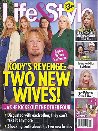 Life & Style (July 11, 2016 - Cover: Sister Wives' Cody - Sister Kunis And Mila