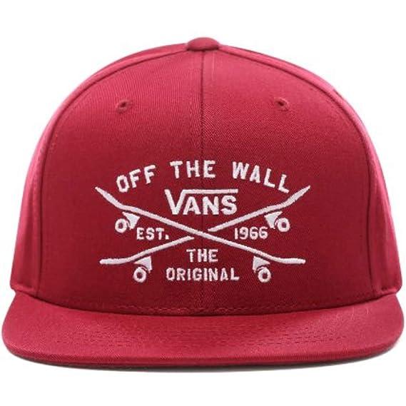Vans - Gorra de béisbol - para Hombre Rhumba Red Talla única ...