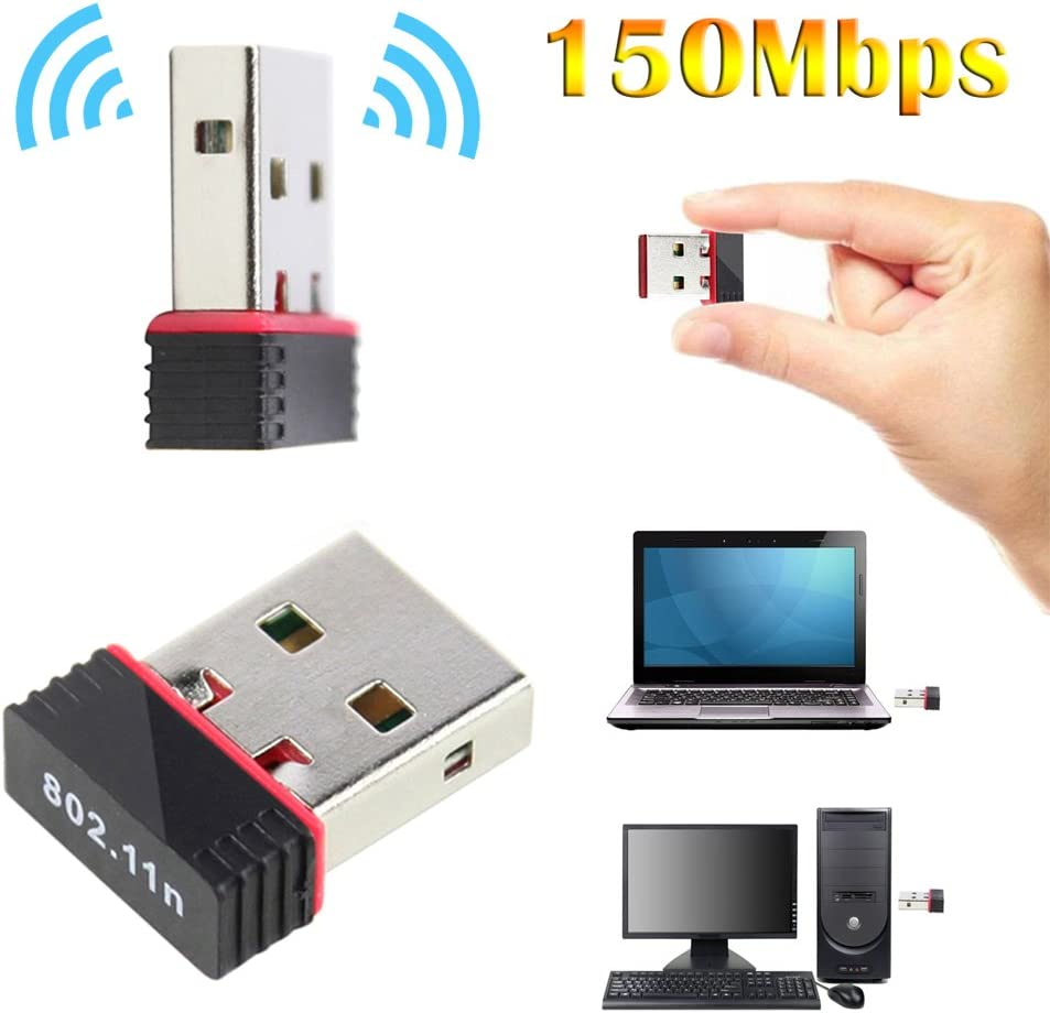 Blue-Ocean-11-150Mbps Wireless USB Wifi Adapter Network LAN Card 802.11 n//g//b for windows 7// Window XP//MAC OS//Linux