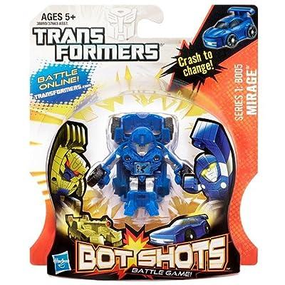 Transformers Bot Shots Mirage B005 Action Figure (Series 1)