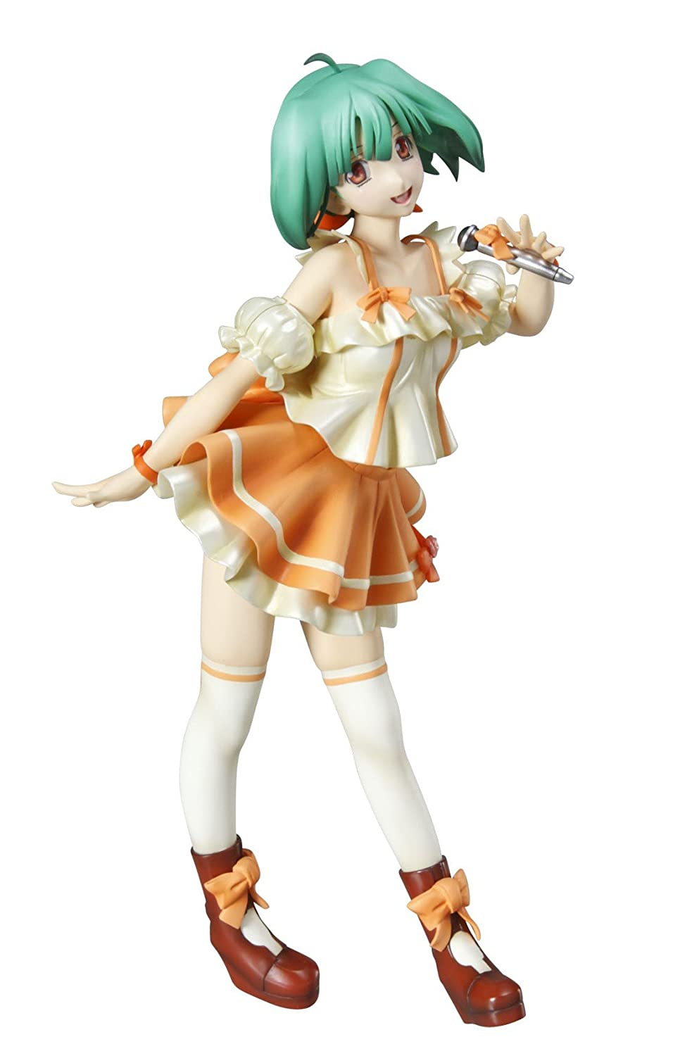 Macross Frontier: ExModel Ranka Lee Super-Dimension Cinderella Ver. 1/8 Scale PVC Figure (japan import)