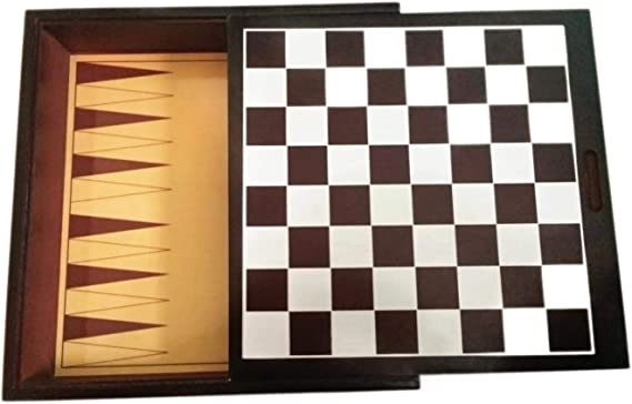 -Solid Wood Boards Game Center by Cardinal Eight Classic Board Games /'Eight Classic Board Games/' Mancala 7
