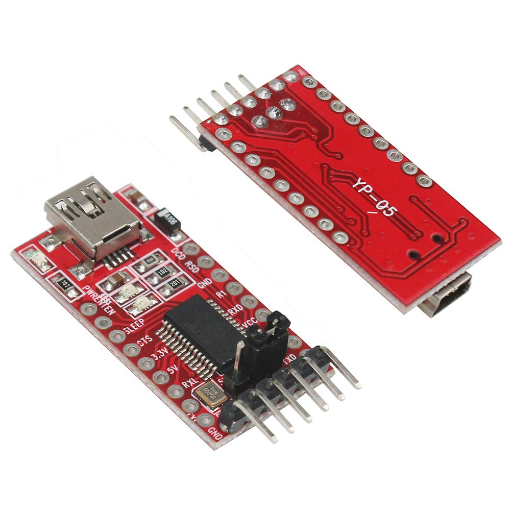KeeYees ESP32-CAM Camera WiFi FT232RL FTDI USB to TTL Serial Converter Bluetooth Module 4M PSRAM Dual-core 32-bit CPU Development Board with OV2640 2MP Camera Module 40 pin Jumper Wire