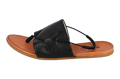 MUSTANG Shoes Sandalen in Übergrößen Schwarz 8003 801 9 große Damenschuhe