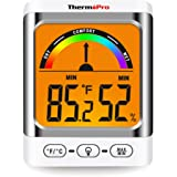 ThermoPro TP52 Digital Hygrometer Indoor Thermometer Temperature and Humidity Gauge Monitor Indicator Room Thermometer…