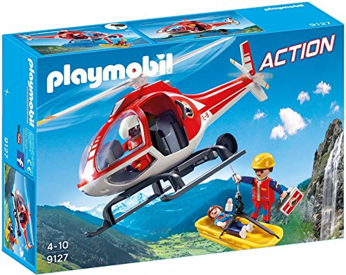 - PLAYMOBIL 9127 Mountain Rescue Helicopter