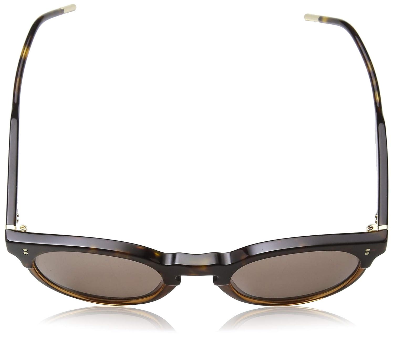 Dolce /& Gabbana Lunettes de soleil 0DG4329 pour hommes, Havane // brun transparent 50 mm