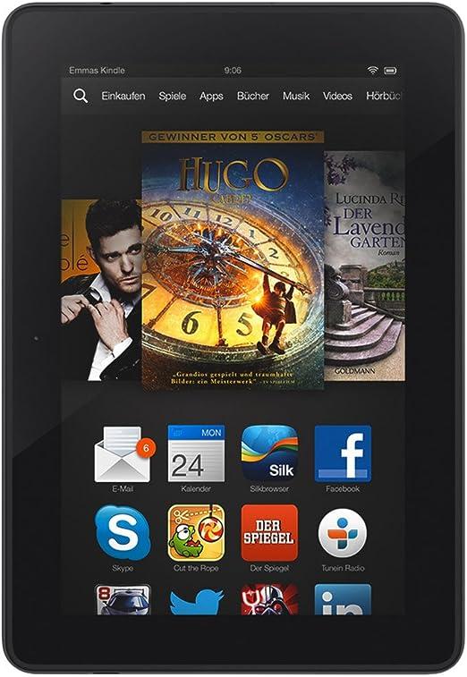 Kindle Fire Hdx 7 17 Cm 7 Zoll Hdx Display Wlan 4g Lte 32 Gb Mit Spezialangeboten Vorgängermodell 3 Generation Amazon Devices