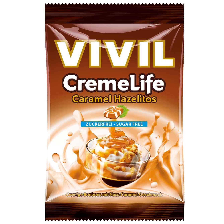 Vivil CremeLife Hazelitos Caramel Sugar Free (2 x 110g)
