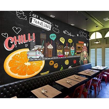 Rureng Juice Shop Custom 3D Photo Wallpaper Pintado A Mano ...