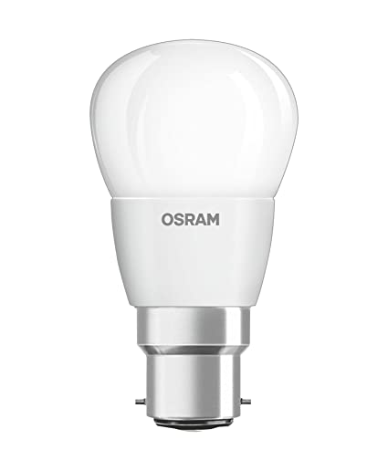 Osram 808799 Bombilla LED B22d, Blanco