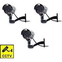 Cámara Seguridad Falsa Interior Exterior Calidad CCTV Cámara