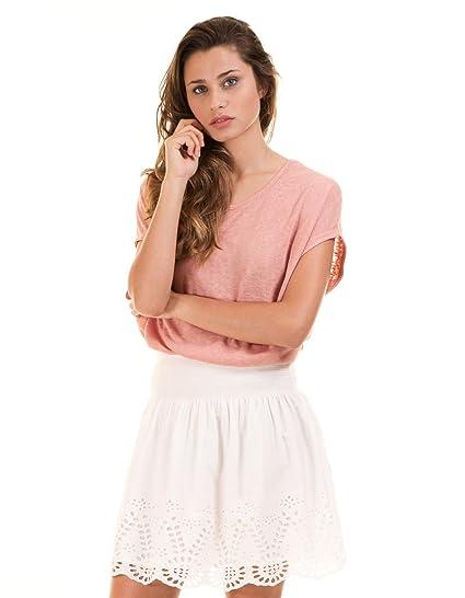 Vila Falda Visimma Skirt Blanca XL: Amazon.es: Ropa y accesorios