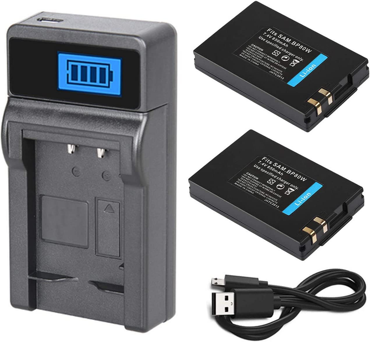 VP-D381i Battery Pack for Samsung VP-D381 VP-D382 VP-D382H Digital Camcorder VP-D382i