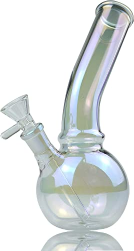 Feoinvc 8inch Glass Bottle Vase