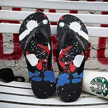 AIHUWAI Sandalen Männer Sandalen Sommer Breathable Flip-Flops Herren Hausschuhe Herrenschuhe Sandalen Flip Toe Casual Flip Flop 11jm1NvGH